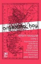 Argentina, Hoy (Paperback or Softback)