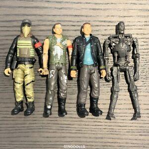 2009 Terminator Salvation Endoskeleton Battle Damage Marcus Action Figure Toys