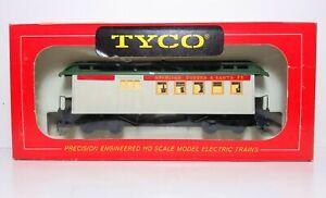 VTG 1960's Tyco 524F:400 HO Scale 1860 Combine Car Western & Atlantic Red Box C2
