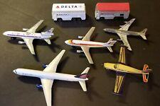 Commercial Airline metal miniatures lot.