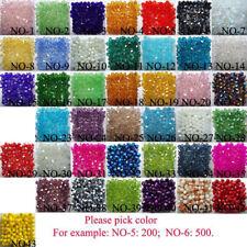 Free Shipping 1000pcs swarovski Crystal 4mm 5301# Bicone Beads
