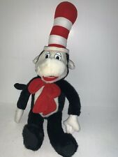 Dr Suess Cat In The Hat Plush Toy Doll Stuffed Open Mouth