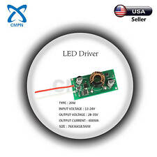 20W High Power Driver Supply AC 12-24V DC 28-35V 600MA Constant Current LED
