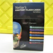 Netter's Anatomy Flash Cards 3rd Edition John T. Hansen