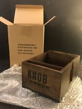 Knob Creek Napkin Caddy Wood NEW! LOOK! Bar Display Man Cave Bourbon