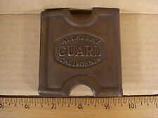 Anson Mills Belt Buckle Alcatraz Guard California Solid Brass