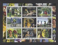 Shrek mini-sheet from Kyrgyzstan