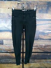 ONLY Damen Gr. XS Stretch Jeans Hose skinny schwarz denim trousers Jegging #30C