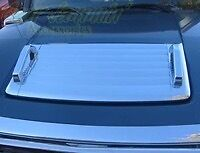 2006-10 Hummer H3 Chrome Hood Deck Vent Cover w/ Handles