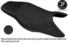 ROYAL BLUE /& BLACK CUSTOM FITS HONDA CB 900 F HORNET 02-09 DUAL SEAT COVER