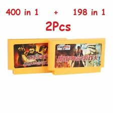 400 in 1+198 in 1 2pcs 8 Bit FC NES Game Cartridge Classical video Game Cards