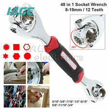 48 in 1 Ratchet Wrench Adjustable Screwdriver Tool Multi-Function Socket Spanner