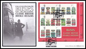 2001 GB Buses Classic British Double-Deckers M/S Benham BLCS208 FDC Bristol SHS