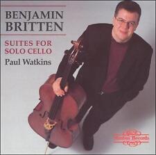 Britten: Suites for Solo Cello, New Music