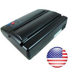Professional Tattoo Stencil Maker Transfer Machine Thermal Copier A5 A4 Paper US
