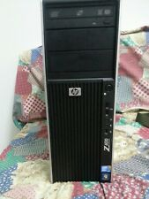 PC gaming HP workstation INTEL Xeon esacore (i7) 12gb Ram NVidiaGTX570 SSD120+HD