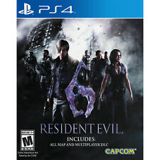 Resident Evil 6 HD PS4 [Brand New]