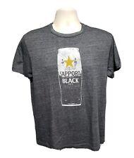 Sapporo Premium Black Beer Adult Medium Gray TShirt