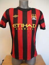 New Umbro Red & Black Etihad Airways Manchester City Kwamesaki #20 Soccer Jersey