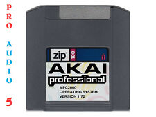 AKAI MPC2000 Operating System  Version 1.72 on ZIP 100 DISK + FREE SAMPLES