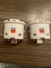 2 X Nintendo Wii Motion Plus Sensors Adapters
