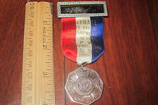 1950 VFW MEDAL RIBBON Veteran Foreign Wars 30 ENCAMPMENT BRIDGEPORT CONNECTICUT