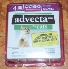 New box Advecta plus cats 5-9 lbs sealed in box and Security casing.4 doses