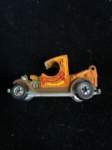 "1977 Hot Wheels ""A"" Truck'n Orange Hong Kong HW3"
