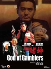 "Andy Lau ""God of Gamblers"" Chow Yun Fat HK Remastered Edition Version R-0 DVD"