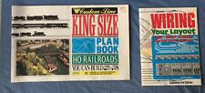 Atlas Custom-Line King Size HO Railroad Plan Book & Wiring Your Layout 3rd Ed