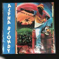 ALPHA BLONDY  – Apartheid is Nazism - REGGAE -  MINT 1987