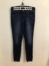 American Eagle Women's Super Stretch Dark Wash Hi-Rise Jegging Jeans - Size 8