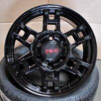 "17"" SEMA Pro Style Gloss Black Wheels Fits Toyota Tacoma FJ Cruiser 4Runner SR5"