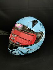 NEW Masei 850 Blue Storm Full Face Motorcycle Harley Helmet Free Shipping M/L