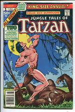 Tarzan Annual #1 - Jungle Tales/King-Size - 1977 (Grade 7.5)