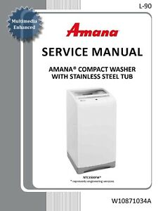 Repair Manual: Whirlpool/Amana/Maytag/MagicChef/Crosley/Admiral washers & dryers