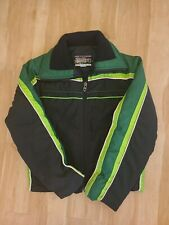 Arctic Cat Racing Vintage  Snowmobile Jacket Men Small  Winter Lined green/black