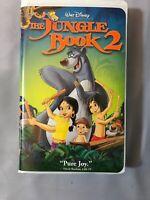 Walt Disney The Jungle Book 2 VHS Baloo  John Goodman