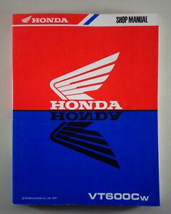 Taller Manual Manual Honda VT 600C Sombra Desde 1997