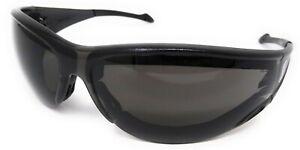 Motorcycle Sunglasses Shatterproof UV400 Anti-Fog Tinted Padded Biker Glasses