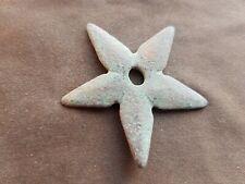 Very rare intact Post Medieval copper alloy spur. Please read description. L150x