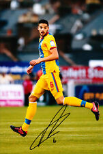 Crystal Palace F.C Aaron Martin Hand Signed 12/13 Photo 12x8 1.