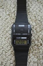 Talking Alarm Novelty Gift Watch Speaks Time In Japanese Digital LCD Black NEW