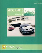 Renault Megane Oasis Limited Edition 2005 UK Market Brochure 1.4 1.6 dCi 86 106