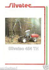 Equipment Brochure - Silvatec - 454 Th - Logging Harvester - French (E1930)