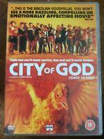 City of God DVD 2002 Brazilian Portuguese Crime Gang Drama Classic