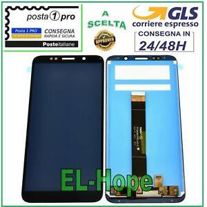 DISPLAY LCD HUAWEI Y5P Y5 PLUS 2020 DRA-LX9 TOUCH SCREEN SCHERMO VETRO NERO