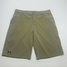 Under Armour Shorts Youth  Extra Large Tan Lightweight Casual 2912