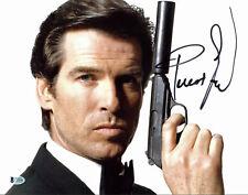 Pierce Brosnan James Bond 007 Authentic Signed 11x14 Photo Autographed BAS 2