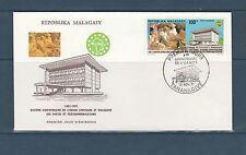 Madagascar  enveloppe  union Africaine et Malgache des postes   1971